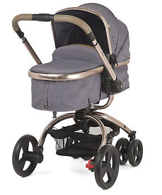 Mothercare Orb Pram and Pushchair - Liquorice Canvas - Used (in very good condition)