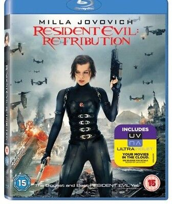 Resident Evil Retribution Blu Ray (Milla Jovovich) Disc Only