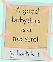 *** PART-TIME/CASUAL BABYSITTER AVAILABLE IMMEDIATELY ***