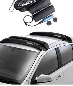 Handirack inflatable roof rack. Fits any car. 80kg max.