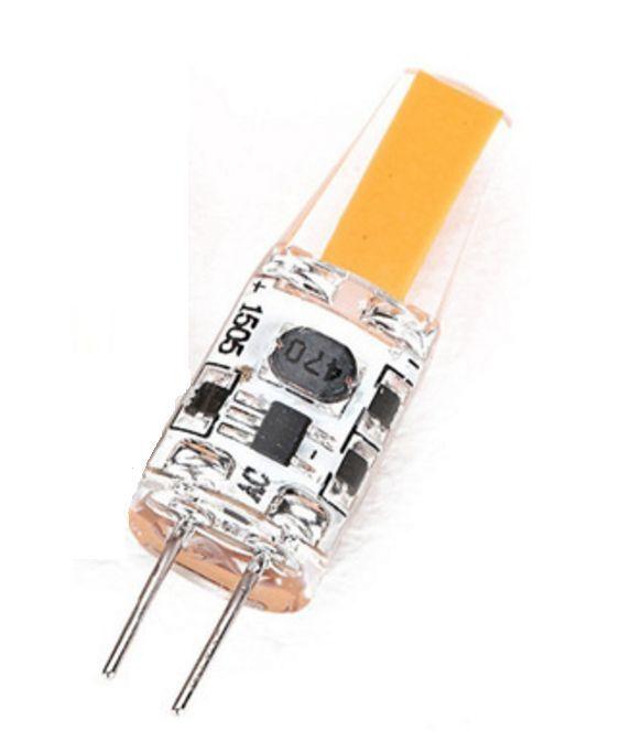 G4 LED Bulb for Landscape Lighting, COBB Chip 2W, 12V AC, 20
