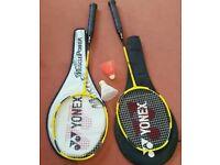 2 x Yonex Isometric Z Badminton Rackets