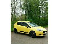 Fiat Punto Limited Edition Yellow £1650