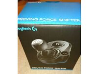 Logitech g 29 driving shifter ps4 or pc new in box.