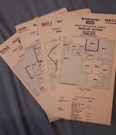 Radio navigation charts