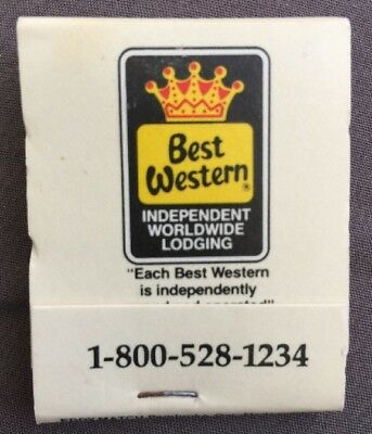 Best Western   Matchbook