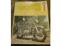 Honda 250 & 350 twins manual