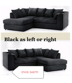 Dylan Jumbo Corner Or 3+2 Seater Sofa Different Colors