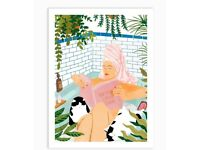 'How to have a spa day at home' art print