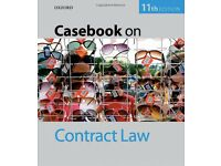 Casebook on Contract Law Jill Poole 11 edition