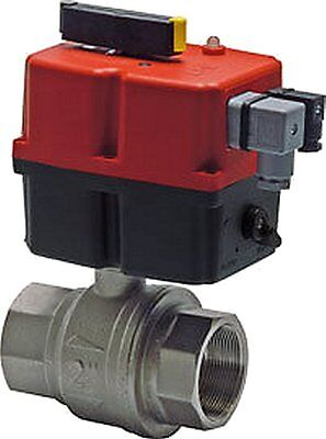 Ball Valve with Electric Turn Actuator 240V G 4 ""