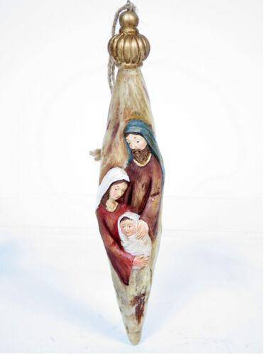 Holy Family Nativity Ornament Tree Decorations Indoor Home Decor