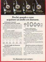 Pubblicità Advertising Werbung 1979 Un Diamante E' Per Sempre (2) -  - ebay.it