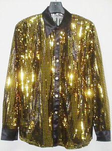 Mens Sparkly Dress Shirts