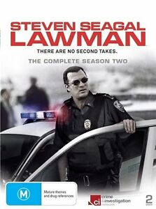 Steven Seagal - Lawman : Season 2 (DVD, 2011, 2-Disc Set)
