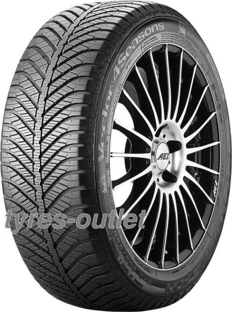 4x TYRE Goodyear Vector 4 Seasons 165/70 R13 79T