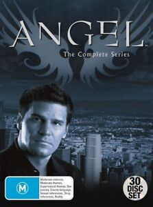 ANGEL COMPLETE SERIES SEASONS 1, 2, 3, 4 & 5 DVD BOX SET 30 DISCS NEW R5