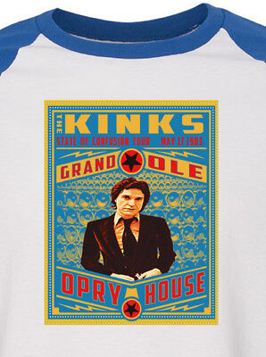 the KINKS new blue T SHIRT Ray Davies mod rock  All sizes S M L XL 60s rock roll](60s Mens Clothes)