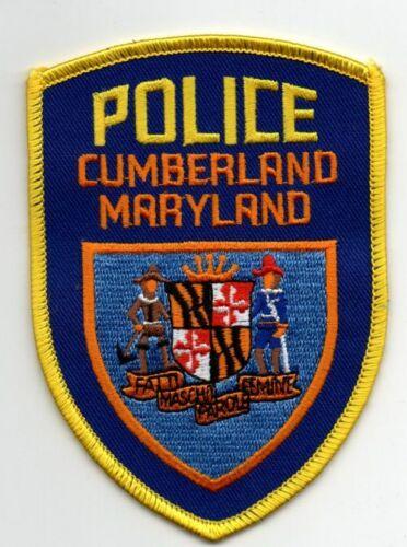 MARYLAND MD CUMBERLAND POLICE NICE PATCH SHERIFF