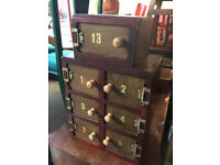 Storage Box , nice little size , cute storage . feel free to view Size H 19.5in W 12in D 7.5in