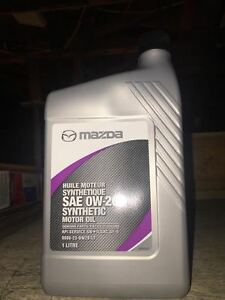 SYNTHETIC OIL AND FILTERS