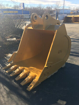 New 48 Mitsubishi Md240 Heavy Duty Excavator Bucket With Coupler Pins
