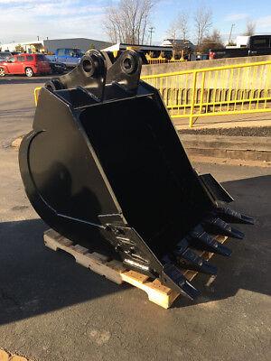 New 36 Sany Sy215c Heavy Duty Excavator Bucket With Coupler Pins