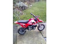 49cc 2 stroke petrol motor bike 11-13 years