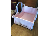 Girls toy box in good condition , feel free to view free local delivery...
