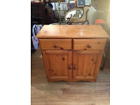 Pine Unit in good condition, feel free to view size L 34 in D 16 in H 34 in free local delivery