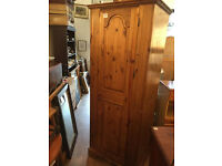 Ducal Single wardrobe - free Local delivery Has mirror inside door. Good Quality and condition.