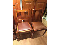 Older style chairs , solid frames , great designs.. Feel free to view £25 each