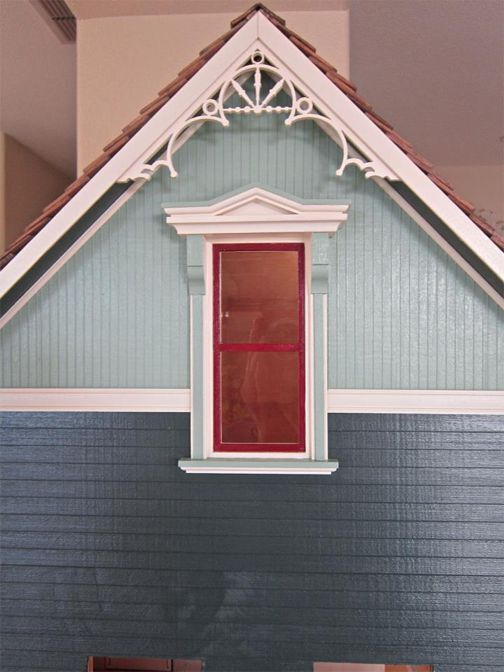 Dollhouse Miniature 1:12 Scale Gable Apex Trim