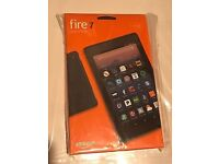 Brand New Amazon Fire 7 Alexa 7 Inch 8GB Black Tablet - THE ULTIMATE BUNDLE