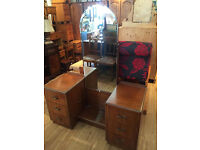 Dressing Table - With Full Mirror - Great shape.