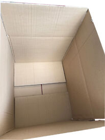 Large boxes storage moving home office double wall