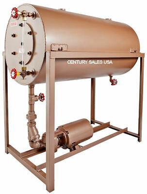 40 Gal Bj55 Boiler Condensate Return Tank W Burks 1 Hp 10cs5m Pump
