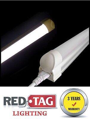 Package of 10 - T8 LED Tube Light Bar  20W  1980LM   4 Ft 4000K Natural White