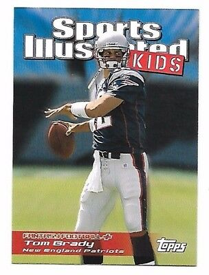 2006 Topps Total Sports Illustrated For Kids Tom Brady