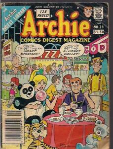 Archie, Jughead and Laugh Comic Digest Magazines