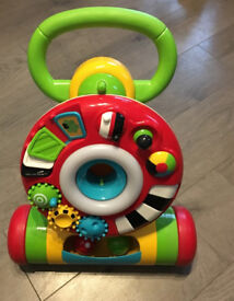 Baby Walker with removable activity ring and balls