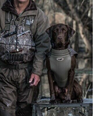 fb32de8c47e21 AVERY BODYSHIELD PRO DOG VEST NEOPRENE MOSSY OAK BOTTOM SIZE L /CAMO DUCK  DECOY