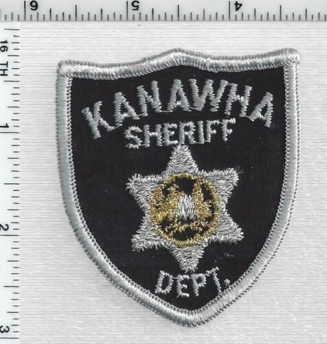 Kanawha Sheriff Dept (West Virginia) 1st Issue Silver Bullion Center Cap Patch