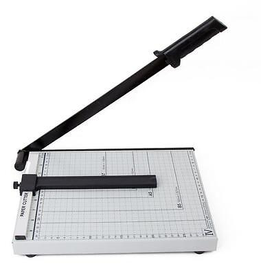 Paper Cutter Card Photo Scrapbook Metal Guillotine Trimmer For Home Office Use