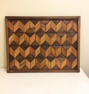 RECLAIMED 3D WOOD WALL ART