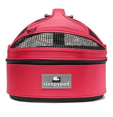 NEW Sleepypod Mini Pet Bed Dog or Cat Traveler Carrier PINK BLOSSOM