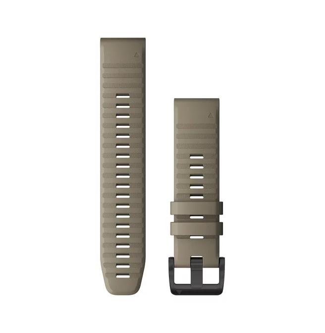 Garmin Quickfit 22 Replacement Watch Bands For Garmin Fenix 6 Dark Sandstone Silicone
