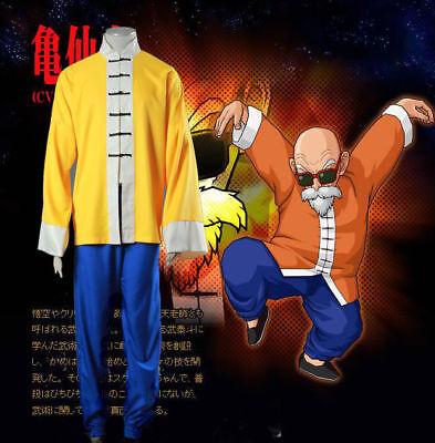 New Saiyan Dragon Ball Master Roshi Kame Sennin Cosplay Costume - Master Roshi Cosplay Kostüm