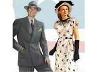 Wanted Old 1940s or 50s clothing for theater production vintage re-enactment