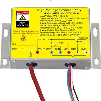 High Voltage Power Supply Dc-dc Conversion Ahv12vn10kv1maw From Usa